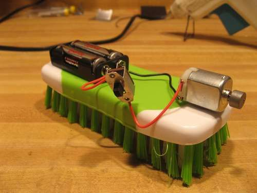 how to make a robot at home