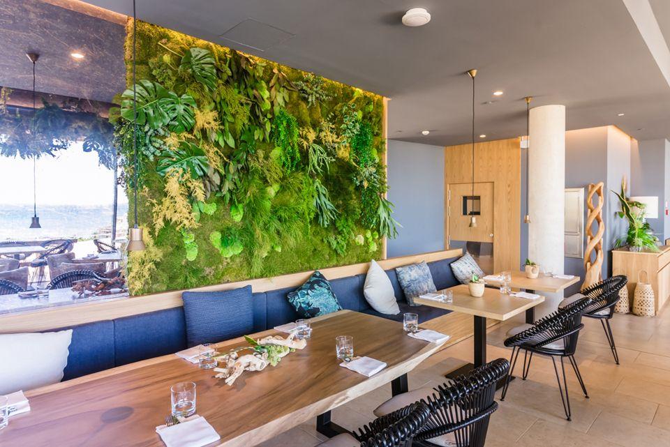 Hotel llaut palace en palma de mallorca el restaurante for Restaurante jardin mallorca