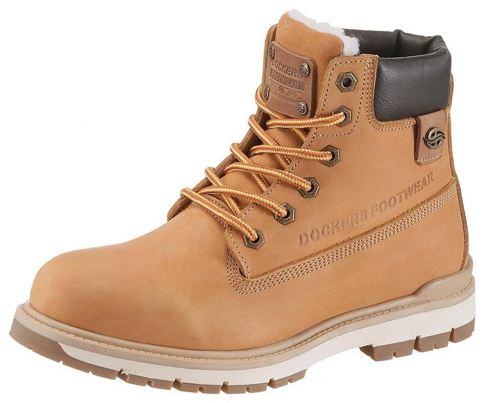 cheap for discount e49a0 77ee0 Dockers by Gerli Schnürboots mit Warmfutter ...