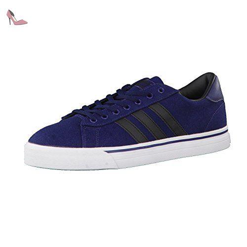 outlet store 9c7cb 93672 adidas Cloudfoam Super Daily, Chaussures de Tennis Homme, Bleu  (MaruniNegbas