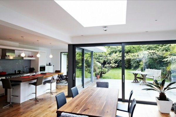 Kitchen dining glass extension home i love the outdoor not outdoorsey feel