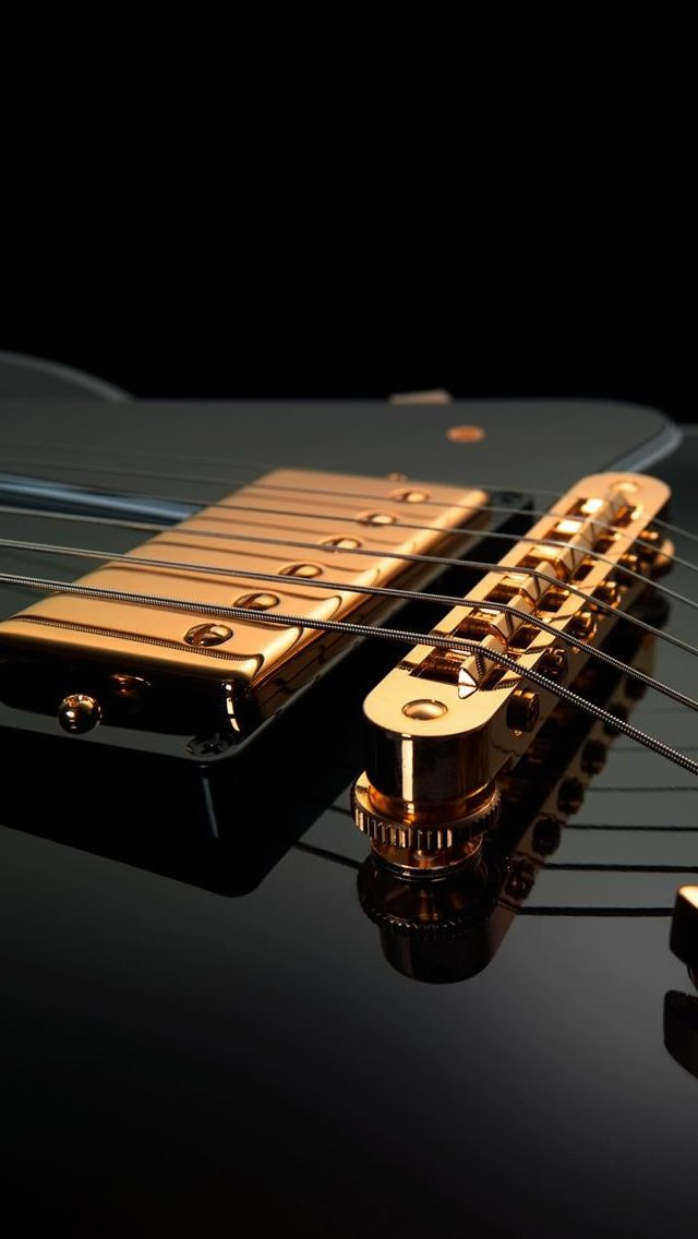 Guitar Strings iPhone 5s wallpaper
