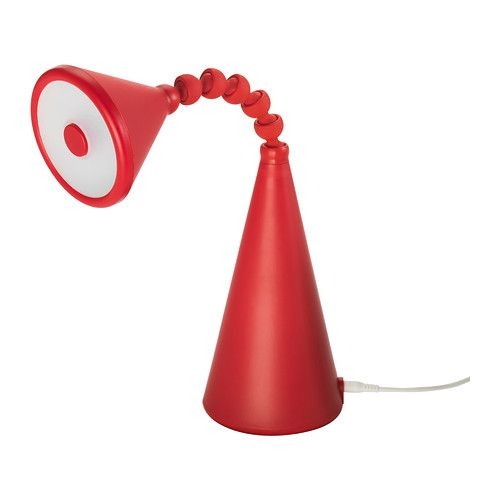 Led Table Lamp, Ikea Red Table Lamps