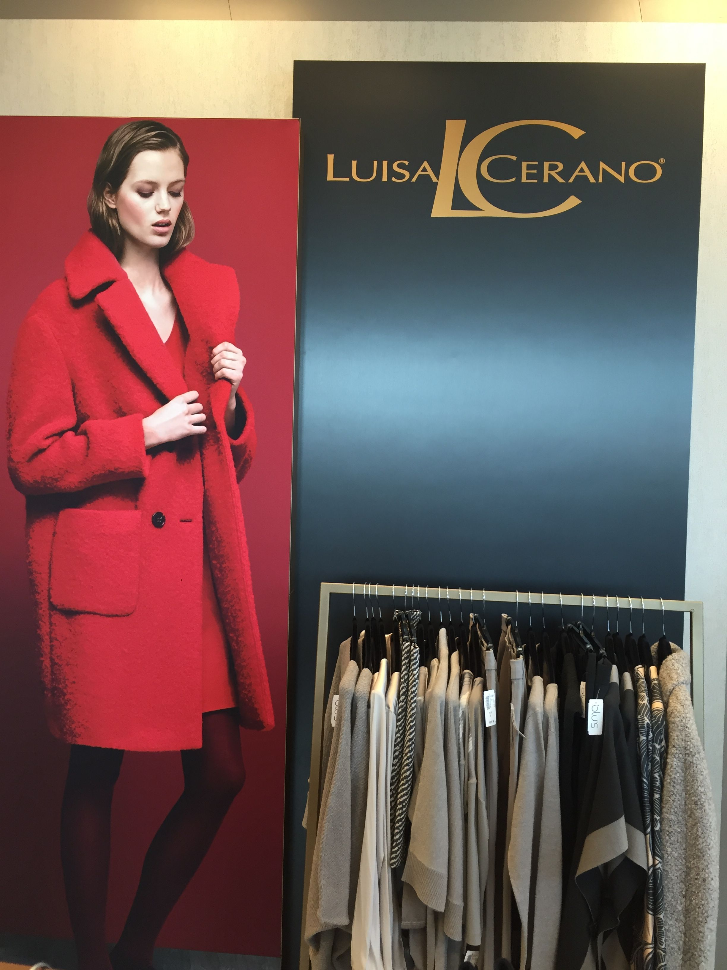 The NEW LUISA CERANO SHOP in SHOP at BLU'S Southgate