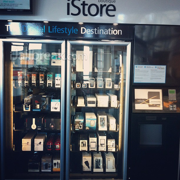 iStore Express Is An Apple Vending Machine Found In Airports