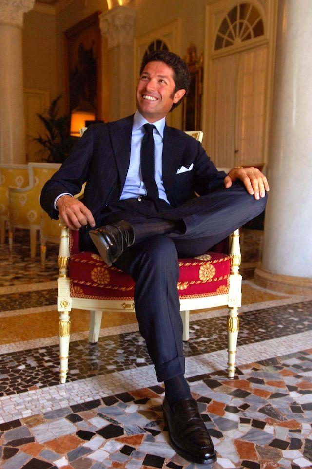 Vestiti Eleganti Italiani.Icona Di Stile Matteo Marzotto Stili Vestiti Eleganti Da Uomo