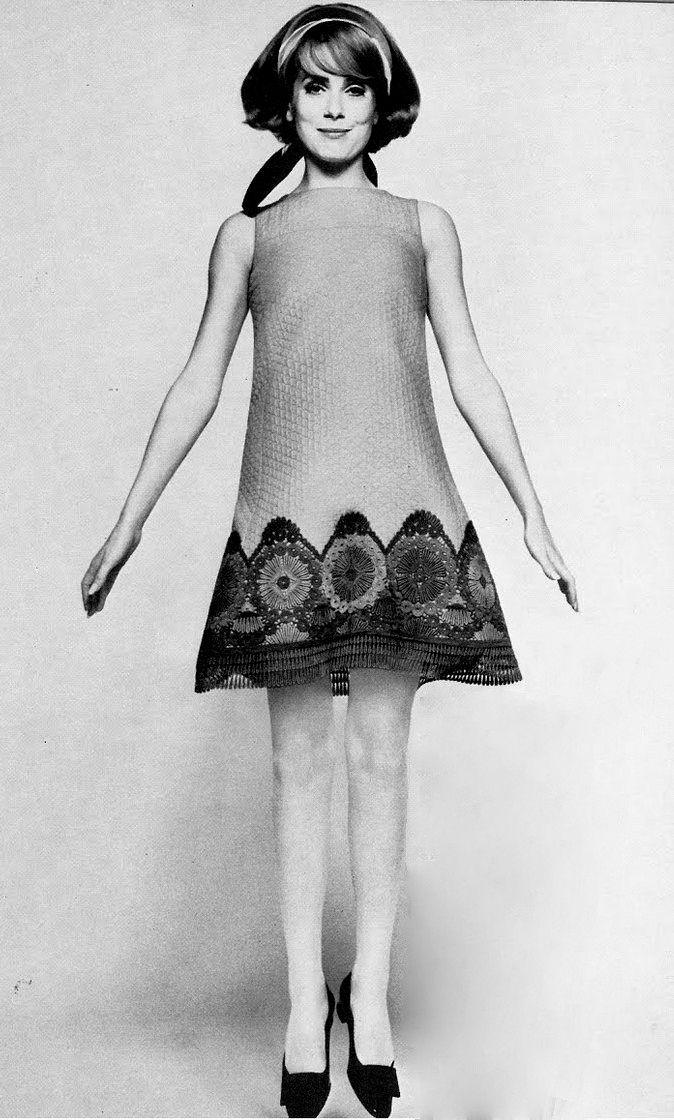 1967 Catherine Deneuve for Vogue