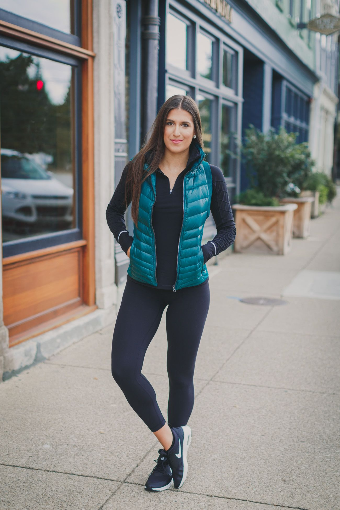 Weekly Workout Routine Puffer Vest A Southern Drawl Womens Workout Outfits Gym Clothes Women Vest Outfits For Women [ 1950 x 1300 Pixel ]