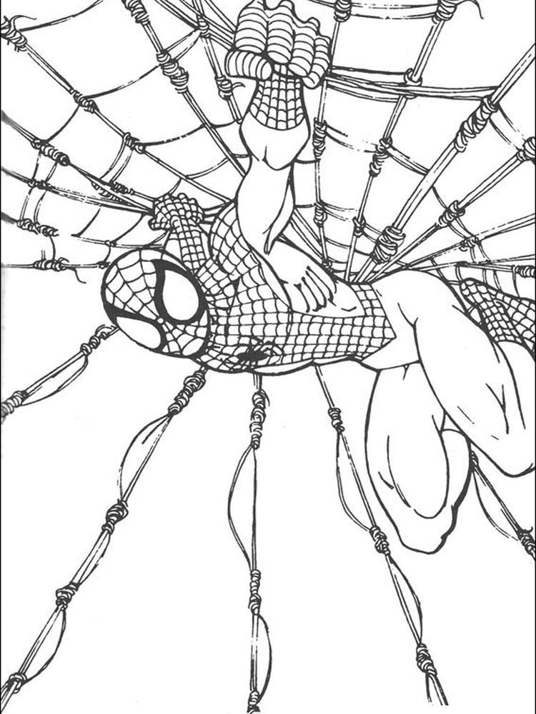 Spider Man Noir Coloring Pages Spiderman Printables Spiderman Spiderman Coloring
