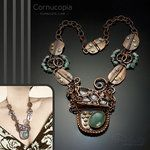 Cornucopia Statement Necklace Foldforming by popnicute
