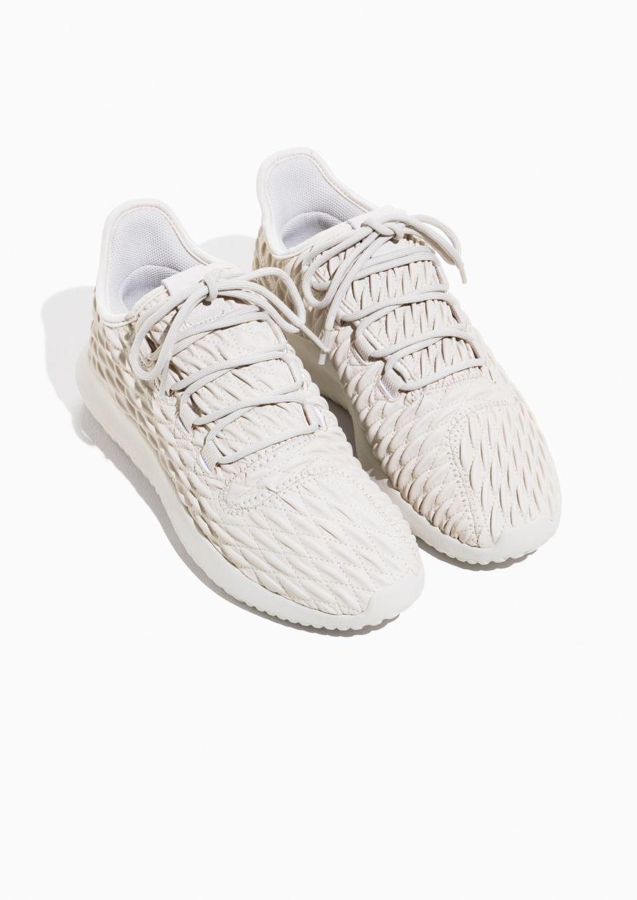 Other Stories image 2 of adidas Tubular Shadow in Beige