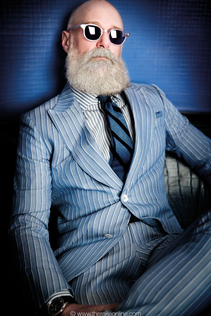 Old Er Dude Happenin Striped Suit Wake Up Papaw Mens Fashion Classic Vintage Mens Fashion Well Dressed Men