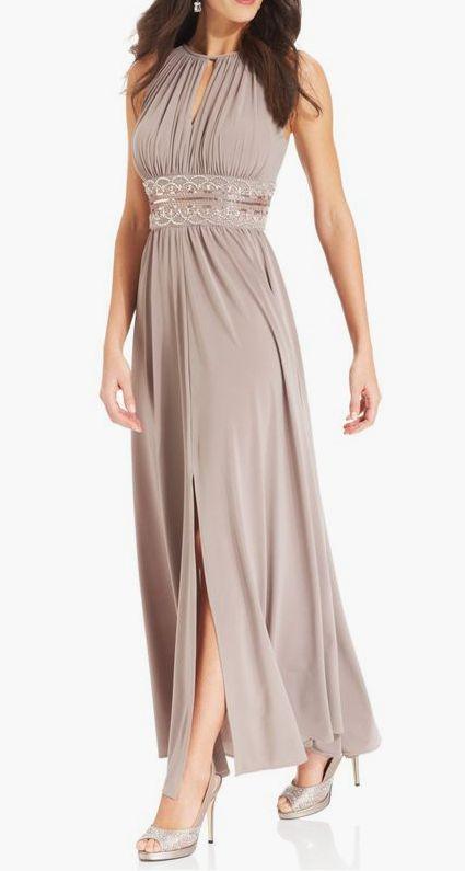 R&M Richards Sleeveless Beaded Evening Gown #sponsored | Wedding ...