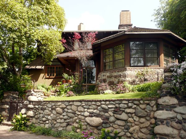 Charles S Greene House In Pasadena Love The Stonework Gamble House The Neighbourhood Gamble House Pasadena
