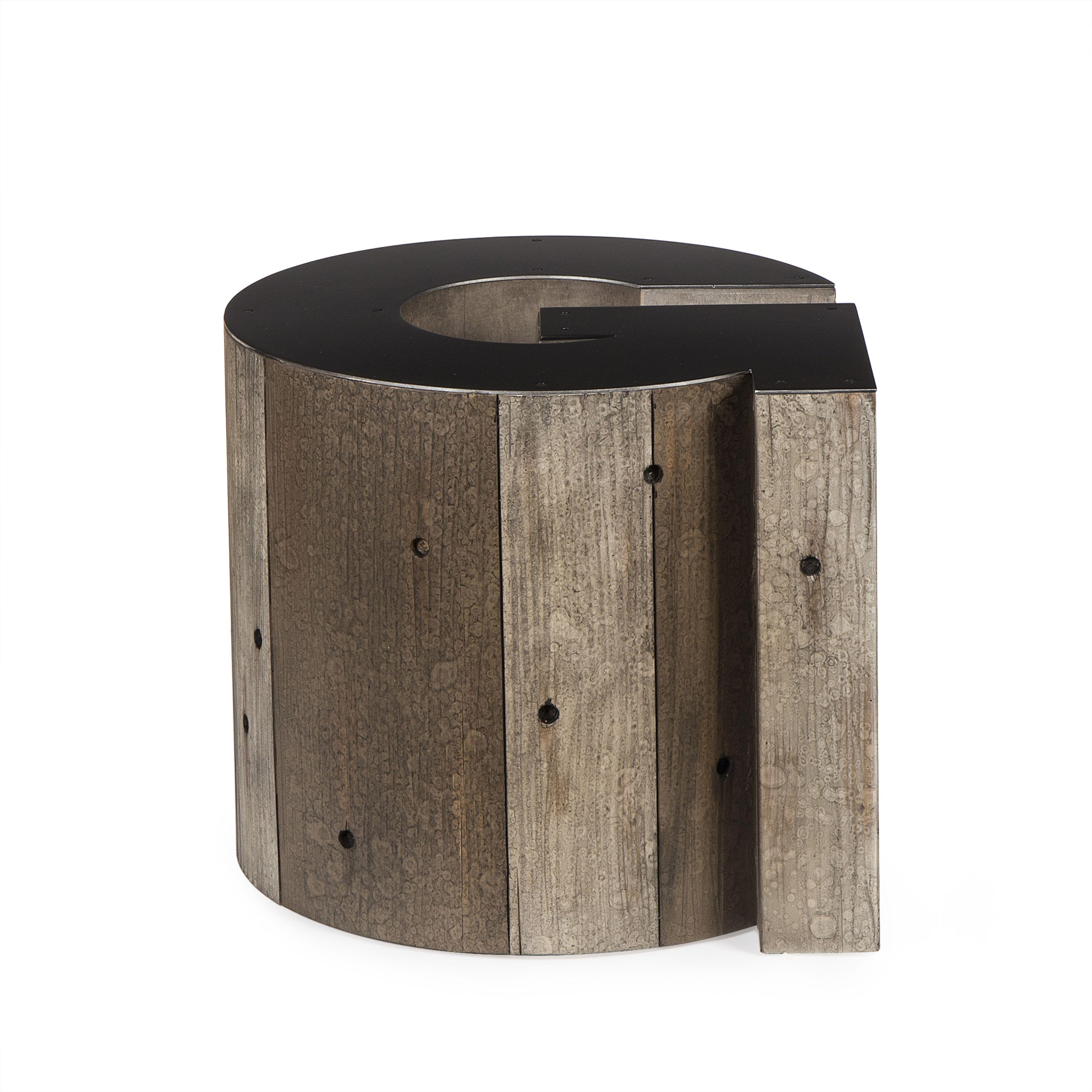 Weathered Wood Coffee Table Hekman