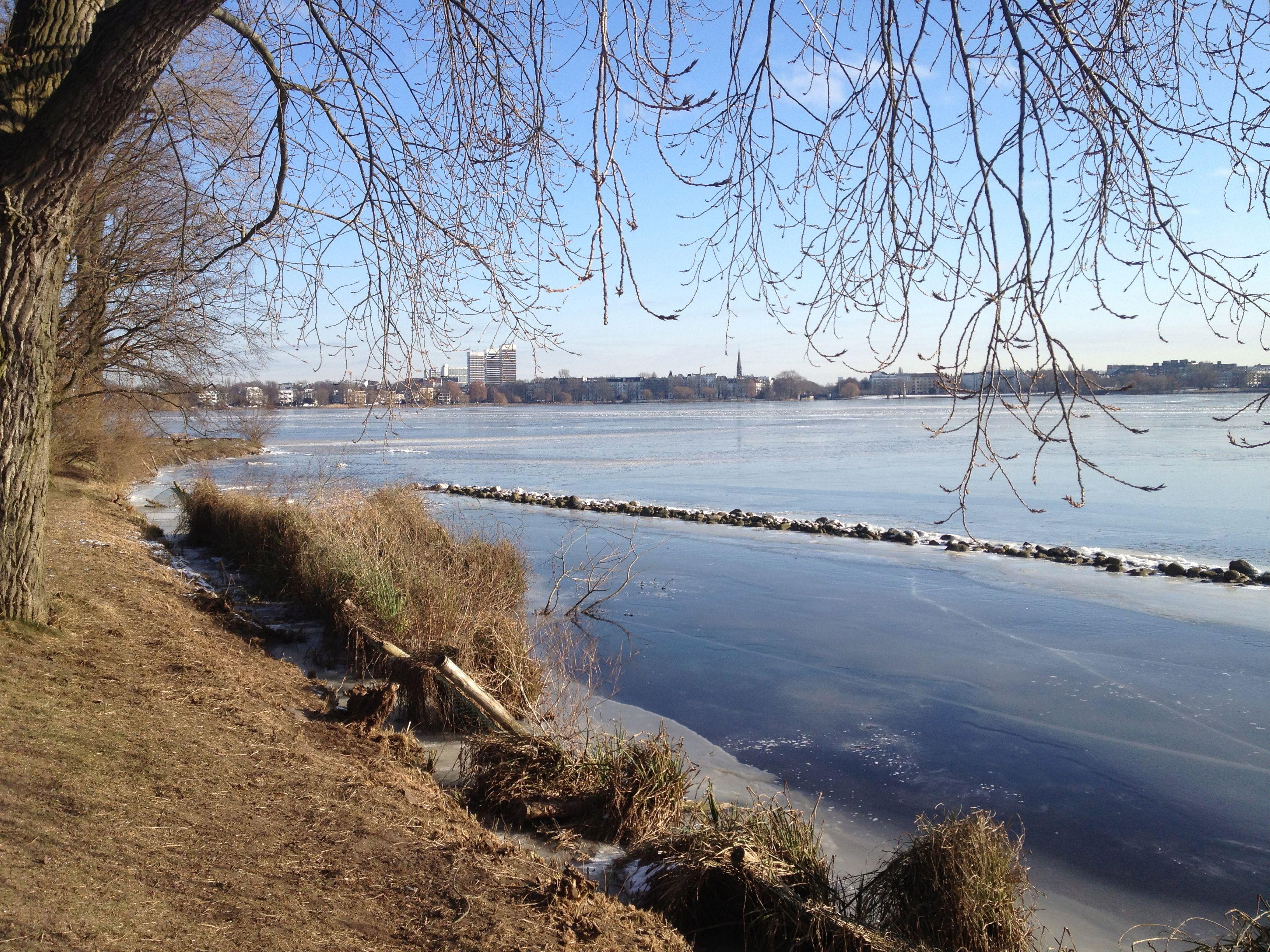 Hamburg - Alster im Winter