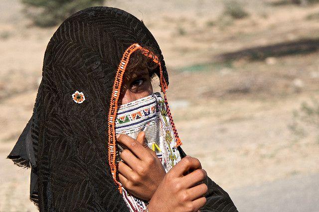 Africa | Portrait of a Rashaida girl.  Semien Keih Bahri, Eritrea | © Cesare Salvetti.