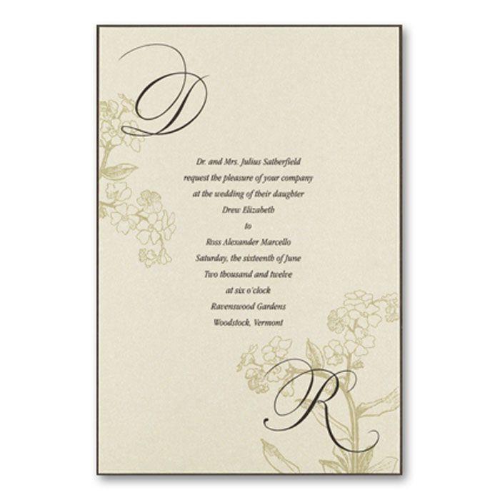 wedding initial monogram | in wedding invitations next in wedding ...