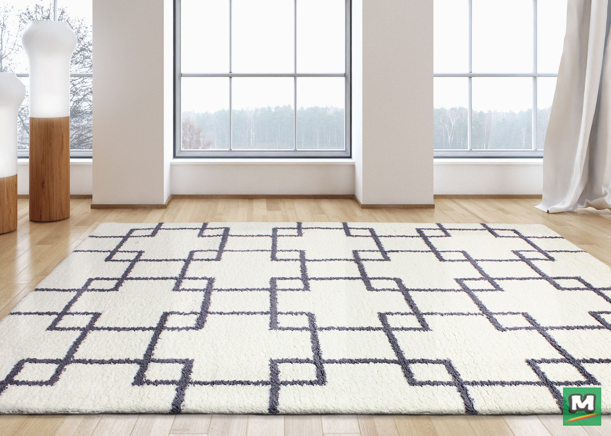 This 7 10 X 10 4 Serenity Ivory Area Rug Is A Fantastic Addition To Any Room Created With Superior Construction Th Area Rug Decor Shag Area Rug Area Rugs
