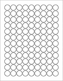 Hershey Kiss Template Ol5275 075 Circle Blank Label Template