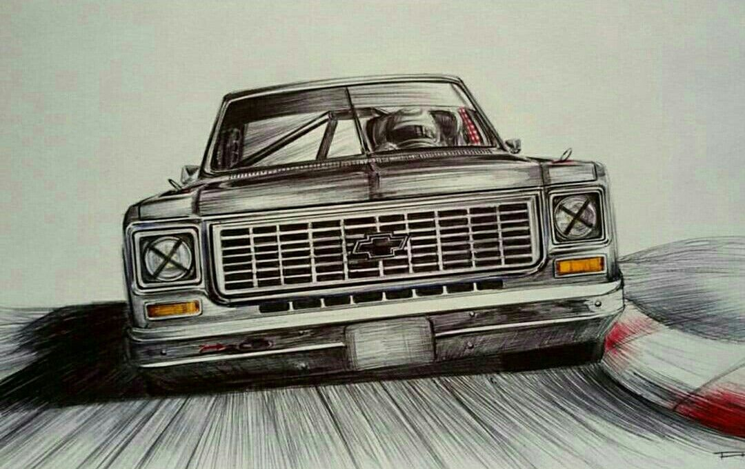 Pin By Juan Jose On Cars Skecthing Classic Chevy Trucks Chevy Pickup Trucks Automotive Artwork