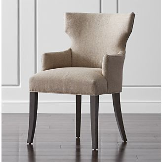 Arm Chair Dining Room Amazing Sasha Upholstered Dining Arm Chair  Crate And Barrel  Dining 2018