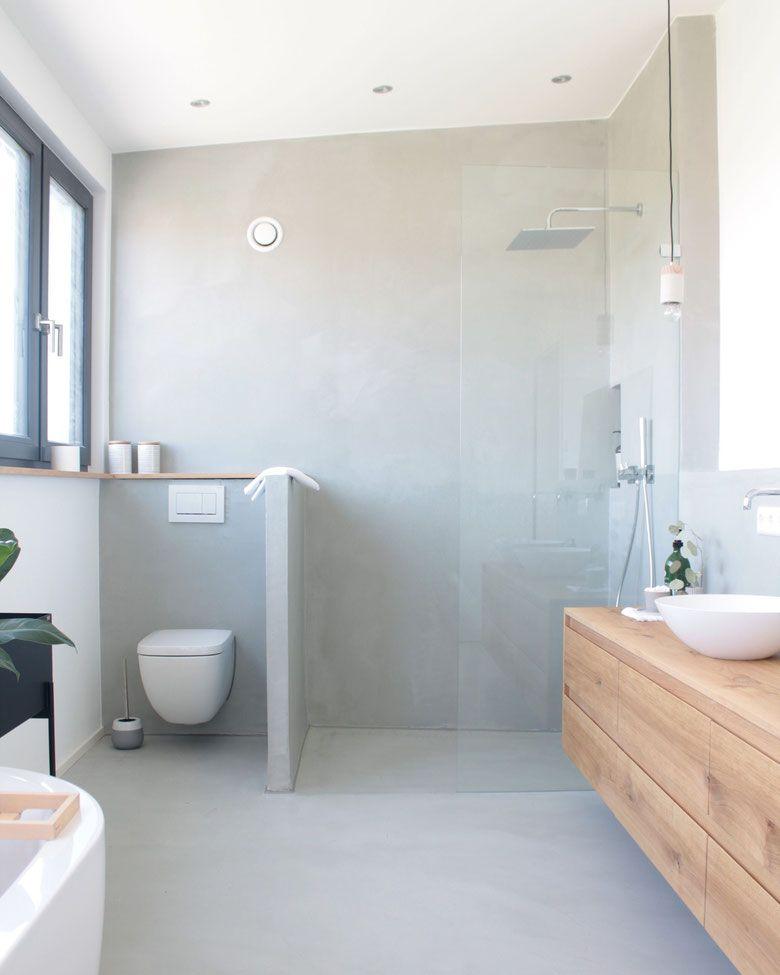 Fugenloses Badezimmer Koenigskram Webseite In 2020 Badezimmer Begehbare Badewanne Mit Dusche Und Badezimmer Umbau