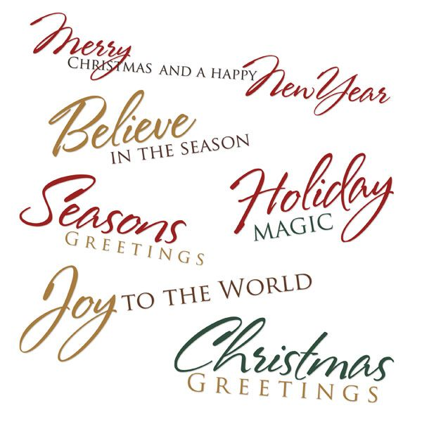 unique christmas sayings for cards