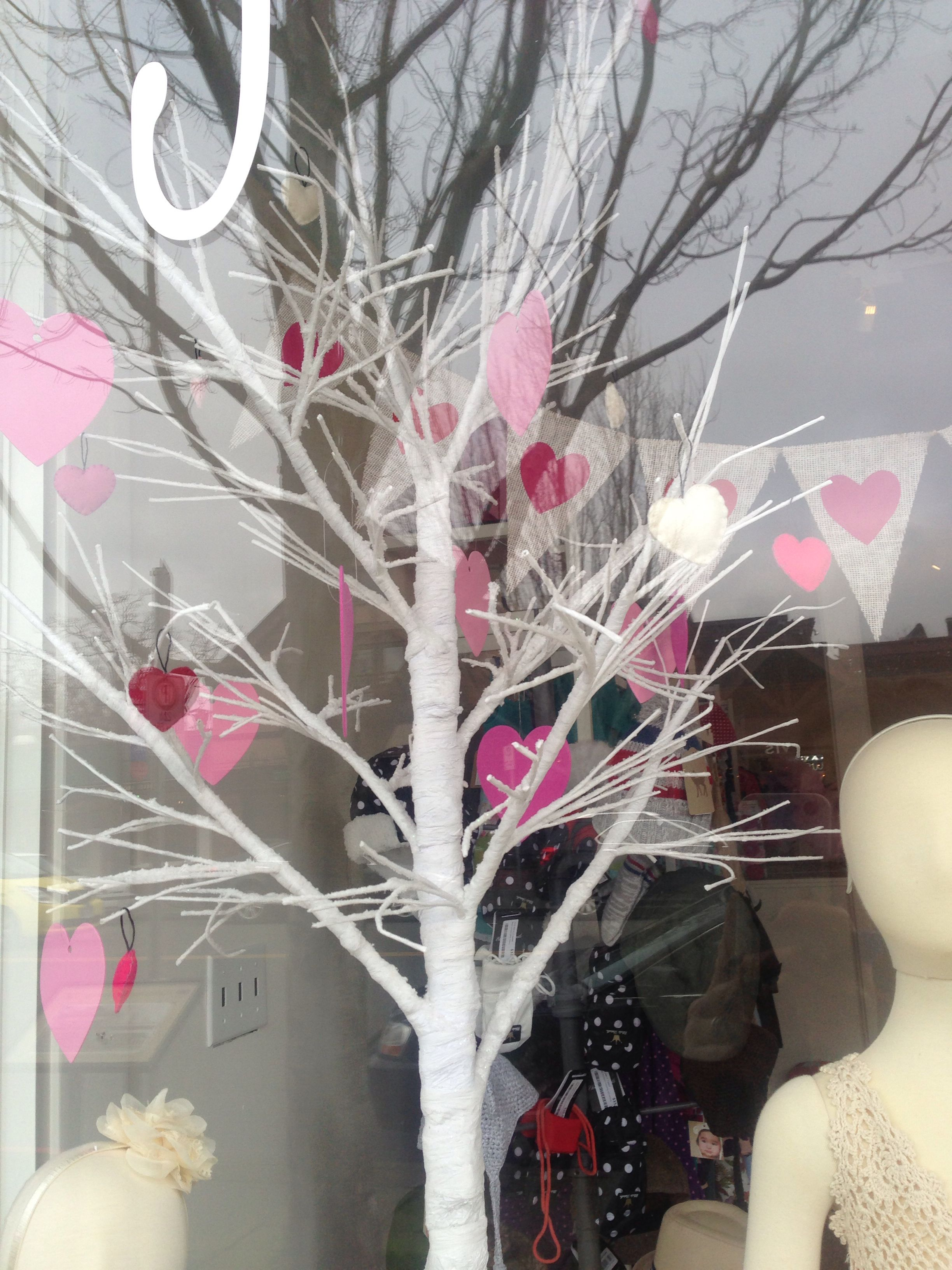 Window display ideas  valentines window display victoria  window displays  pinterest