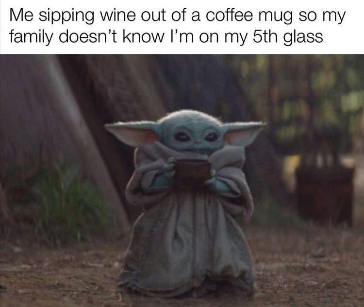 Baby Yoda Yoda Meme Yoda Funny Yoda