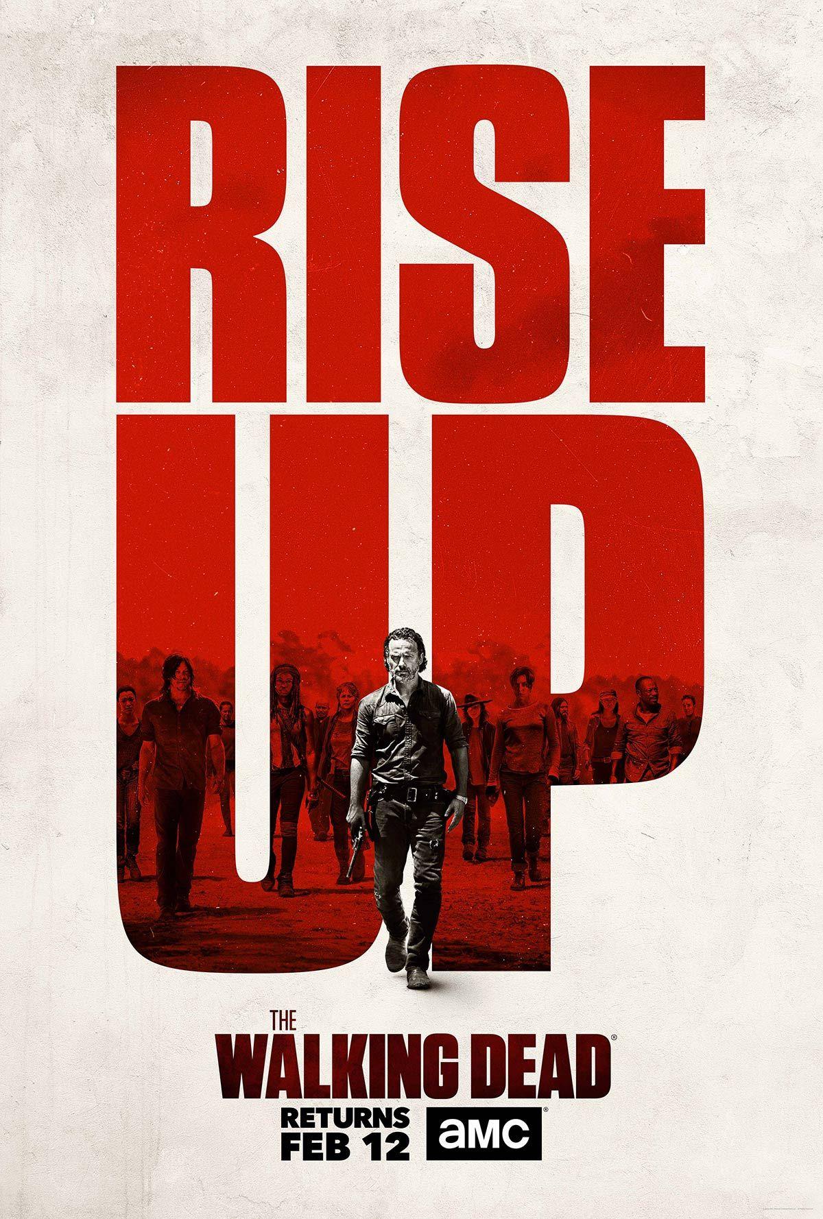 Walking Dead Season 7 Part 2 Episodes 9 16 Twd Walking