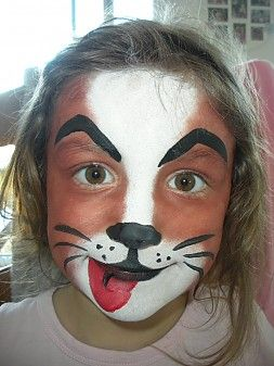 Dog Full Face Play Puppy Face Paint Face Dog Face Paints