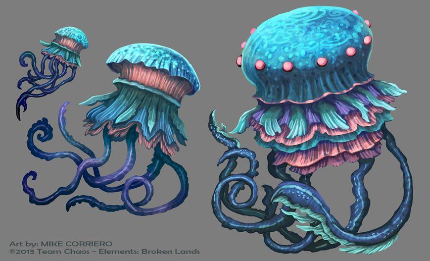 Hangman Jellyfish by MIKECORRIERO on DeviantArt
