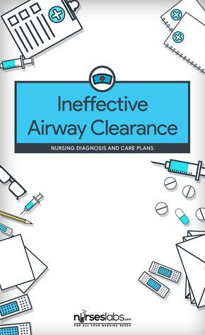 Ineffective Airway Clearance Pinterest Nursing diagnosis and - care plan