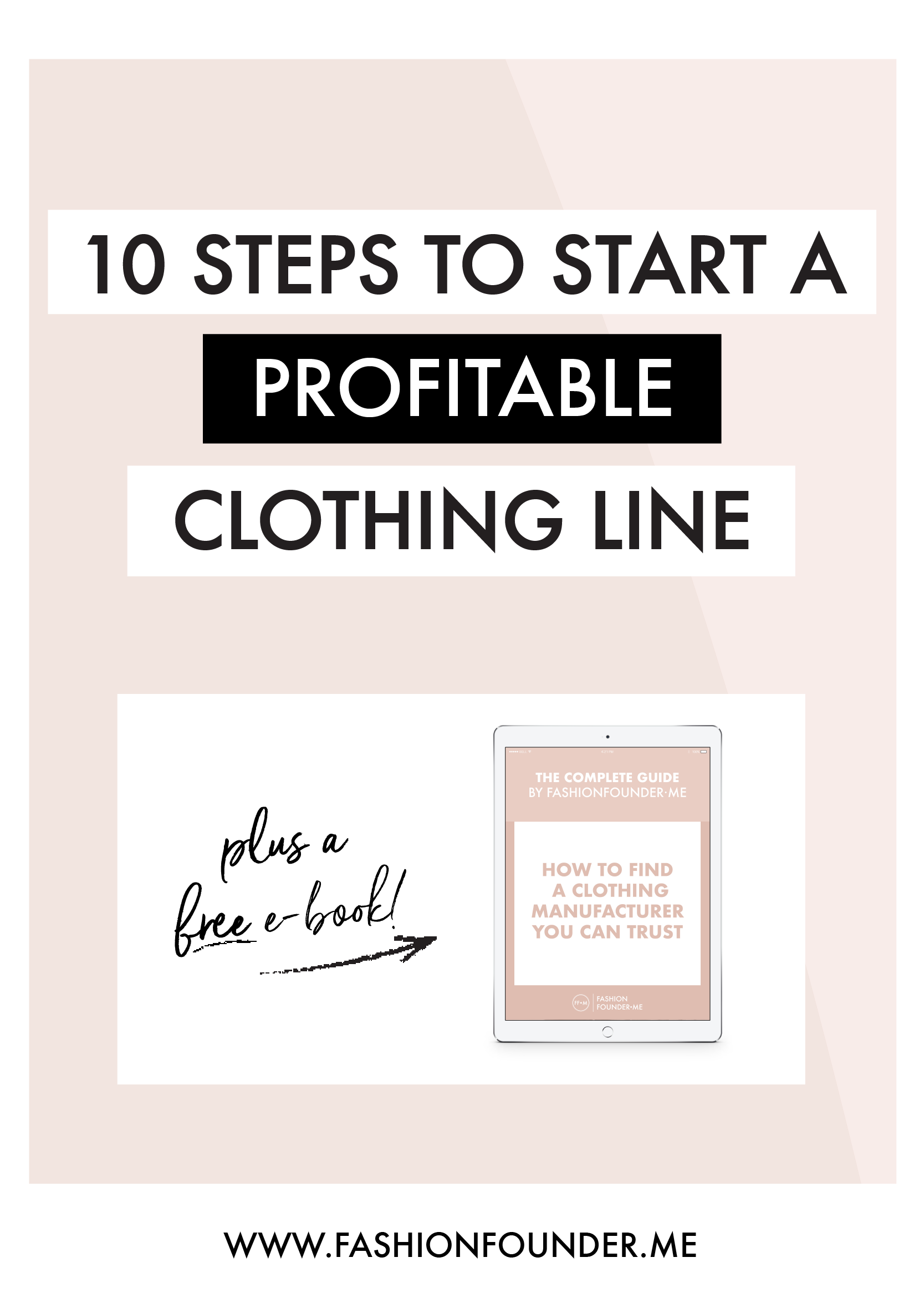 Start A Clothing Line 10 Steps to Make it Profitable