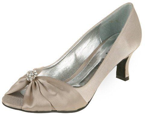 4a54985b87f Lexus Z102 Layla ladies wide fitting shoes with small diamante trim  Amazon.co.uk   Shoes   Accessories