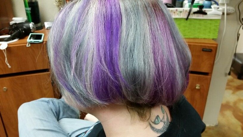 Gorgeous! Purple and Silver! #inspired
