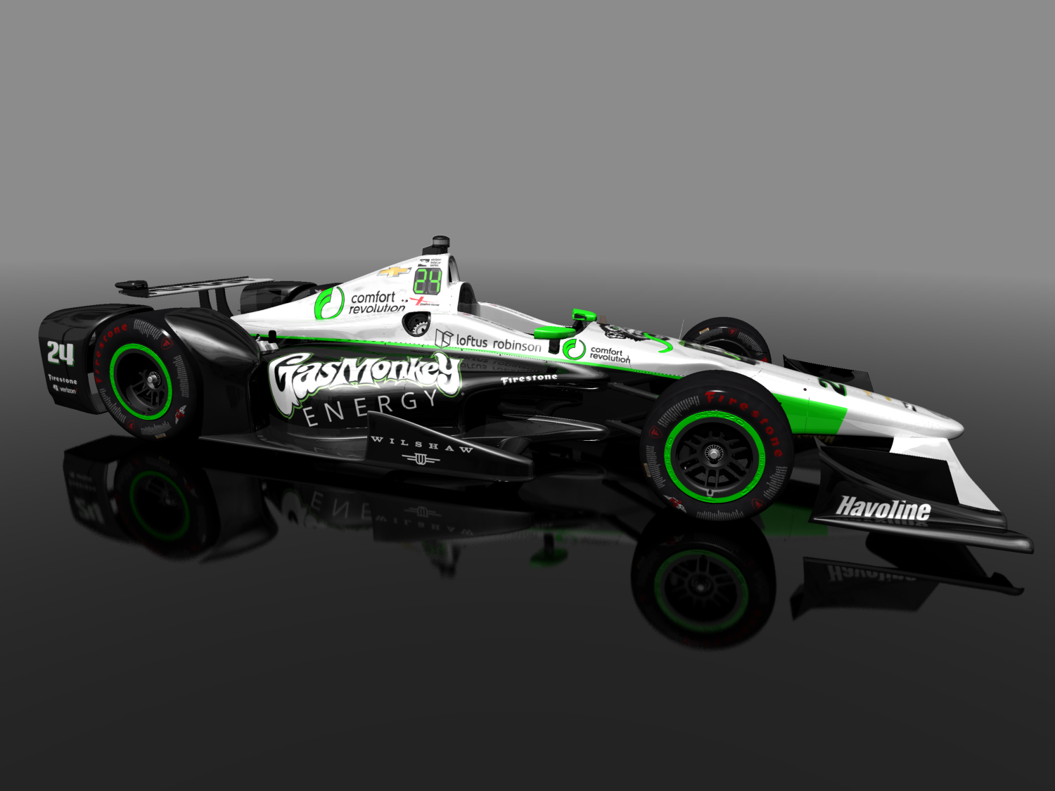 Reinbold Continues Dreyer Family Racing Legacy In 100th Indy 500 With No 24 Gas Monkey Energy Car For Sage Karam Gas Monkey Racing Gas Monkey Garage