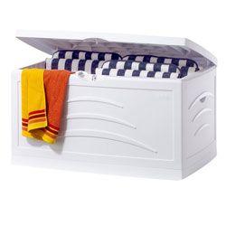 malle maxi serena 500l blanc coffre