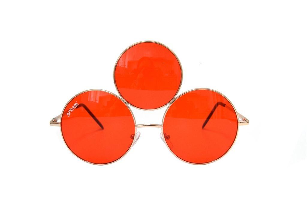 914e344281 Red Third Eye Sunglasses