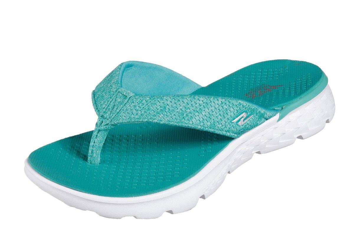 Skechers On The Go 400 Vivacity Teal Women's Comfort Flip