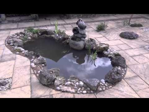 Small Patio Pond Construction Near Newcastle Youtube 400 x 300