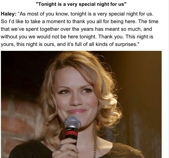 One Tree Hill Final Episode Quotes: Haley Last Episode Quote