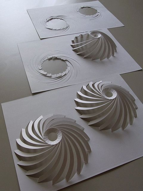 Lamella dome for Kirigami paper art