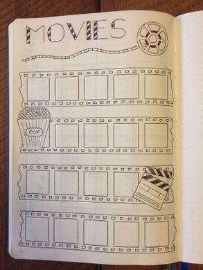 Meine Filmseite. Aufzählungszeichen. BuJo Seite. | Kugel ... - #Aufzählungszeichen #bujo #Filmseite #Kugel #meine #Seite #journaling