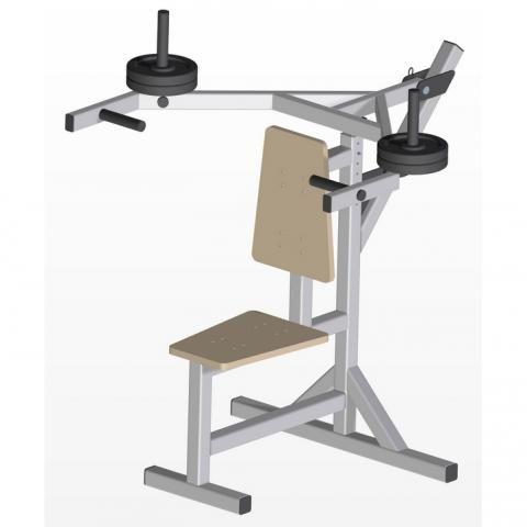 Shoulder press bench plan mb pdf plans to build your