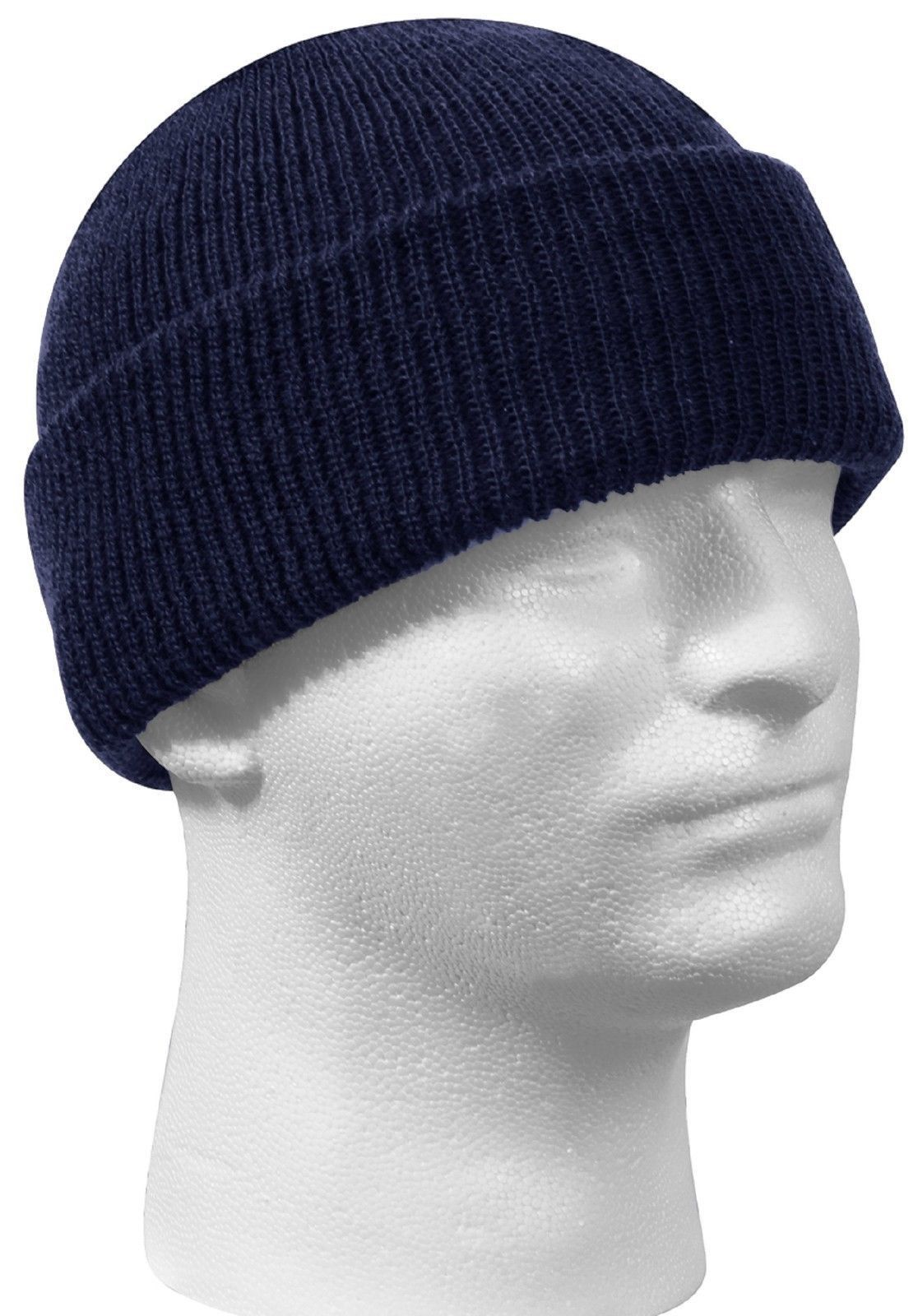 daa3ca779ff611 Genuine Military 100% Wool Watch Cap GSA Compliant Beanie Cap USA MADE