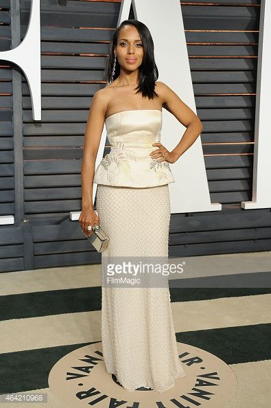 MY Kerry at the 2015 Vanity Fair Oscar Party