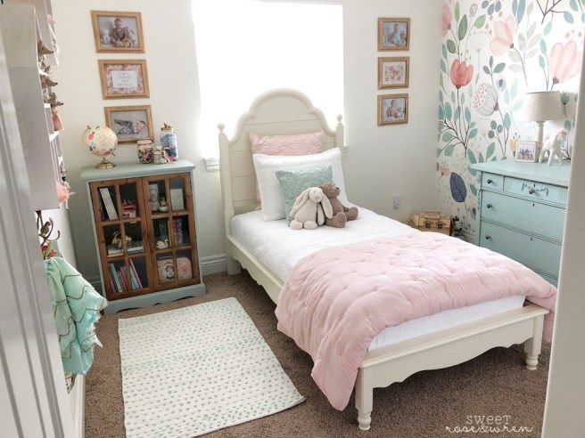ORC Final Reveal! – sweetroseandwren.com #girlsbedroom