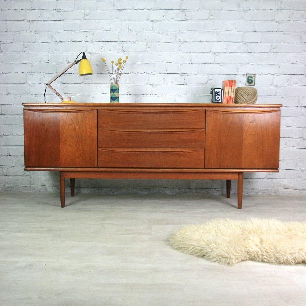 Vintage 1960s Teak Sideboard - Vintage 1960s Teak Sideboard Teak, 1960s And Vintage